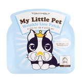 Tony Moly Пластырь против морщин в носогубной области My little pet wrinkle line patch, 5гр