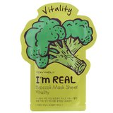 Tony Moly Тканевая маска с экстр.брокколи I'm real broccoli mask sheet, 21 мл