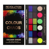 "MAKEUP REVOLUTION Палетка теней ""COLOUR CHAOS"""