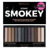 Makeup Revolution палетка теней Iconic Smokey Palette