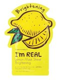 Tony Moly Тканевая маска с экстр.лимона I'm real lemon mask sheet, 21 мл