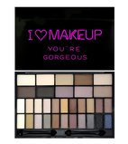 "Makeup Revolution Палетка теней ""I HEART MAKEUP THEME PALETTE"", You are Gorgeous"