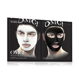 Double Dare OMG! Man In Black Facial Mask Kit маска мужская двухкомпонентная