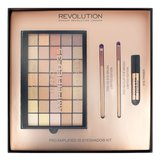"Makeup Revolution ""PRO Amplified 35 Naked Golds"" набор для макияжа"