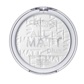 "CATRICE ""All Matt Plus Shine Control Powder"" Пудра компактная, 001"