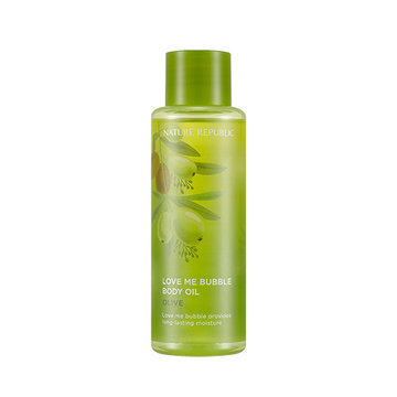 "Nature Republic Масло для тела ""LOVE ME BUBBLE BODY OIL-OLIVE"""