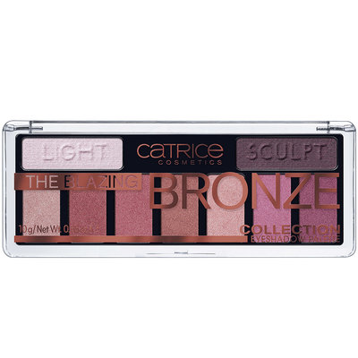 "CATRICE Палетка теней для век ""THE BLAZING BRONZE COLLECTION EYESHADOW PALETTE"""
