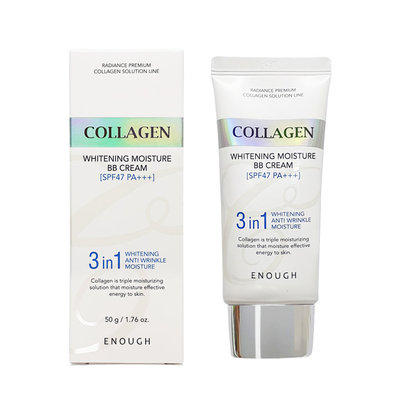 "ENOUGH ББ-крем с морским коллагеном ""COLLAGEN 3 in 1 WHITENING MOISTURE BB CREAM SPF47 PA+++"""