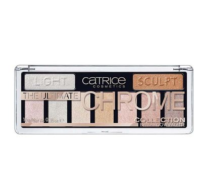 CATRICE 9 в 1 The Ultimate Chrome Collection Eyeshadow PaletteТени для век