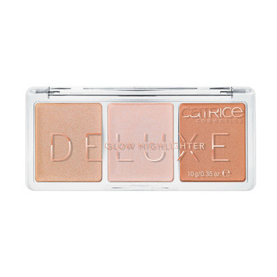CATRICE Хайлайтер 3 В 1 Deluxe Glow Highlighter The Glowrious Three