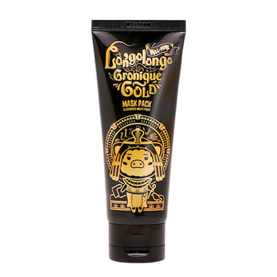 "Elizavecca Маска-пленка золотая ""HELL-PORE LONGOLONGO GRONIQUE GOLD MASK PACK"""