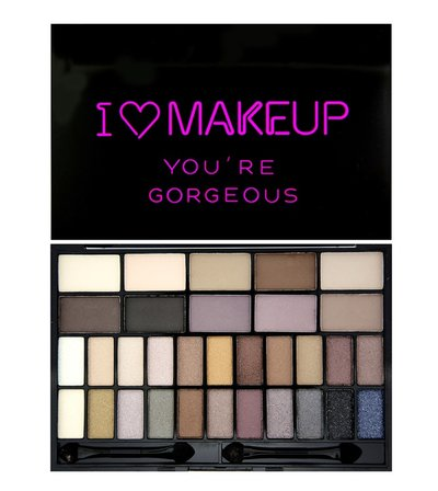 Makeup Revolution Палетка теней I Heart Makeup Theme Palette, You are Gorgeous
