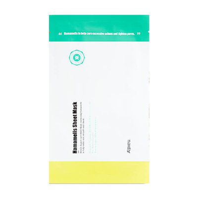 "A'PIEU Тканевая маска с гамамелисом ""HAMAMELIS SHEET MASK"""
