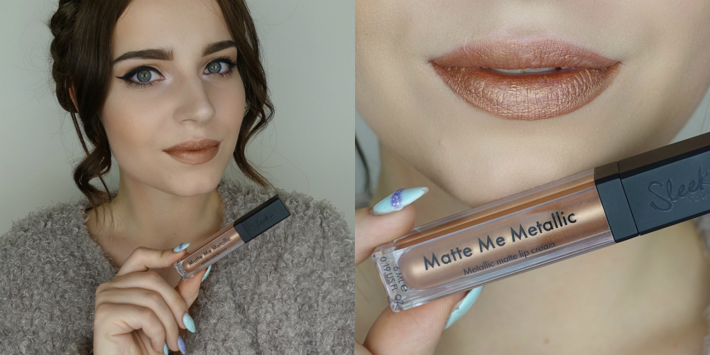 фото помады от Sleek Makeup Matte Me Metallic Roman Copper