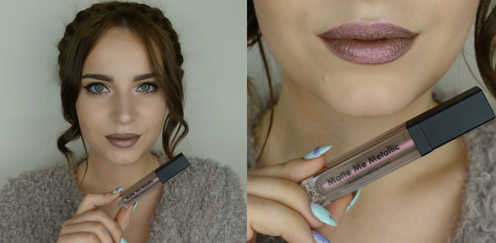 фото помады от Sleek Makeup Matte Me Metallic Volcanic