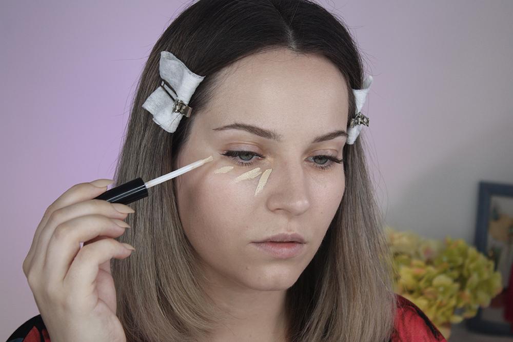 создаем нюдовый макияж. консилер